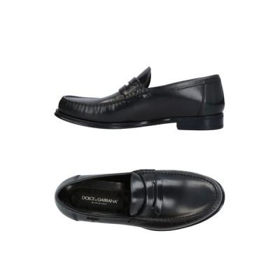 ドルチェ&ガッバーナ DOLCE & GABBANA メンズ ローファー シューズ・靴 loafers Steel grey