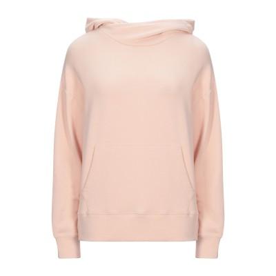 VINCE. スウェットシャツ ローズピンク XS コットン 98% / ポリウレタン 2% スウェットシャツ