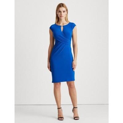 ラルフローレン ワンピース トップス レディース Wrap-Style Jersey Dress Regal Sapphire