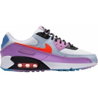 ナイキ レディース スニーカー シューズ Nike Women's Air Max 90 Shoes White/Hyper Crimson