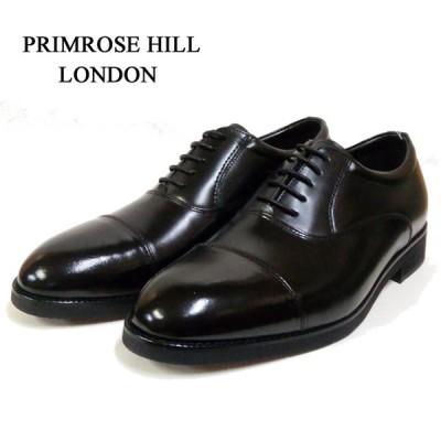 ビジネスシューズ ストレートチップ プリムローズヒル ロンドン PRIMROSE HILL LONDON CB502 ブラック 黒  日本製 本革 紳士靴 父の日 就職祝