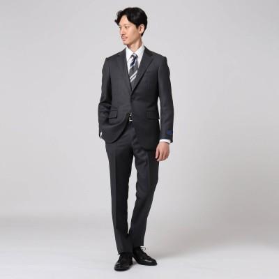 タケオ キクチ TAKEO KIKUCHI 【Sサイズ~】シャドーオルタネイトストライプ スーツ (チャコールグレー)