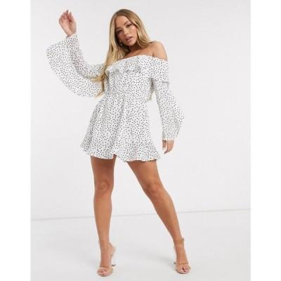 ラスラ Lasula レディース ワンピース ワンピース・ドレス Polka Dot Print Dress In Multi マルチカラー