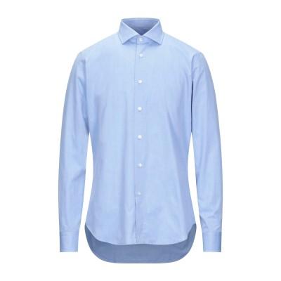 CALLISTO CAMPORA シャツ アジュールブルー 38 コットン 100% シャツ