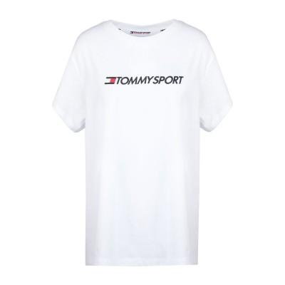 TOMMY SPORT T シャツ ホワイト XS コットン 60% / ポリエステル 40% T シャツ