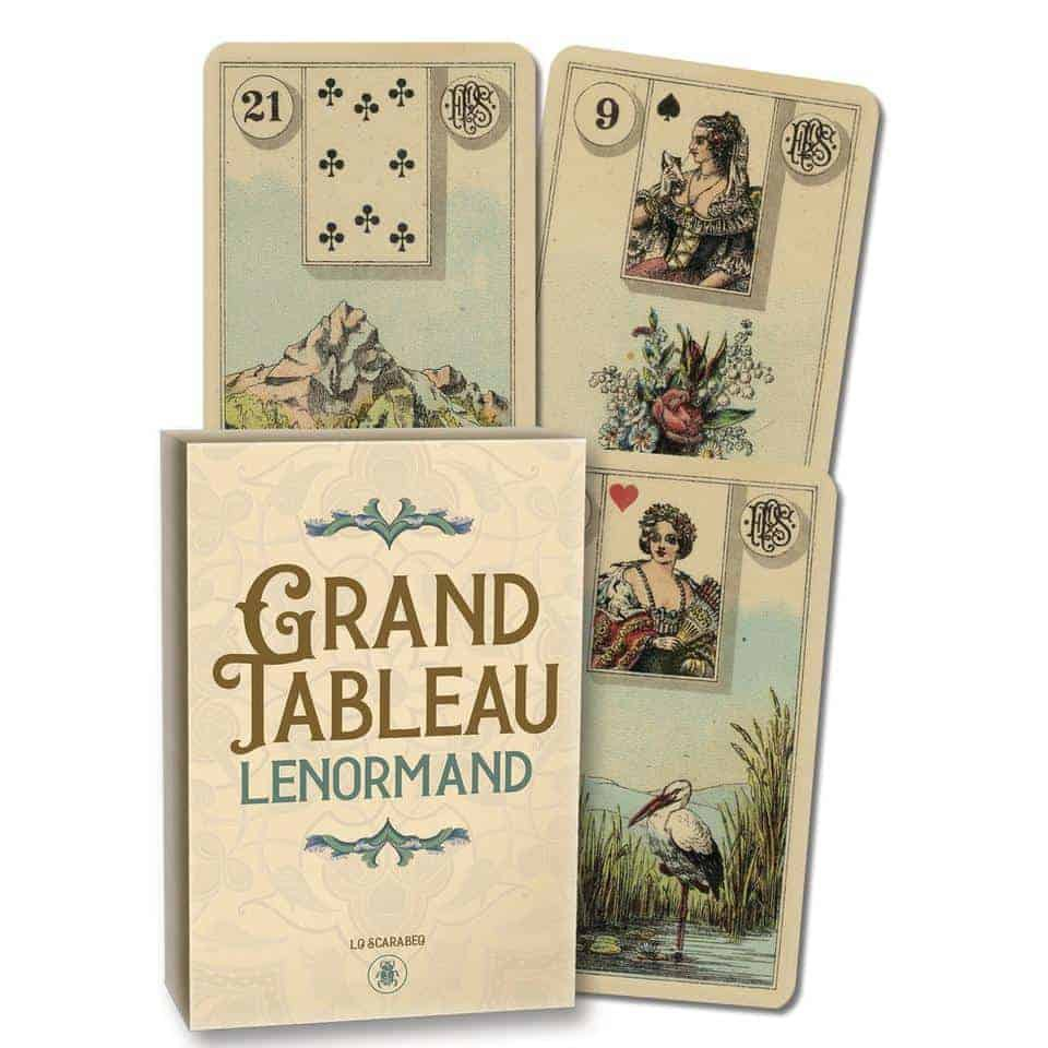 GT大牌陣雷諾曼|Grand Tableau Lenormand,將誘人的復古外觀與頹廢風格插圖結合在一起【左西購物網】