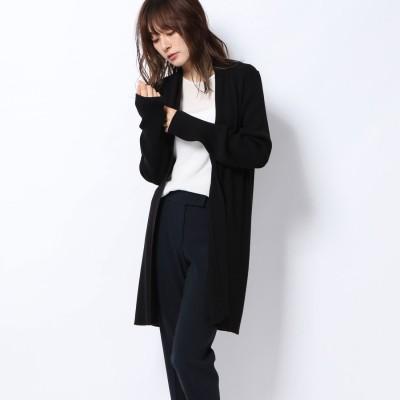 リネーム Rename 細リブカーディガン (ブラック)