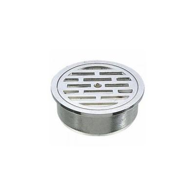 YAZAWA VU目皿 排水用品 VUパイプ用 カギ付 呼び:50 H41-50