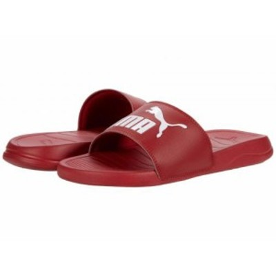 PUMA プーマ メンズ 男性用 シューズ 靴 サンダル Popcat Red Dahlia/Puma White【送料無料】
