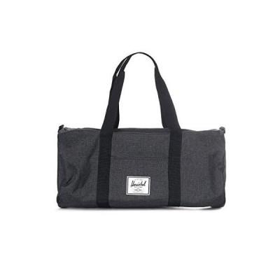 Herschel 10251-02093-OS Sutton Duffel Bag, Black Crosshatch/Black, Mid-Volume 28.0L 並行輸入品