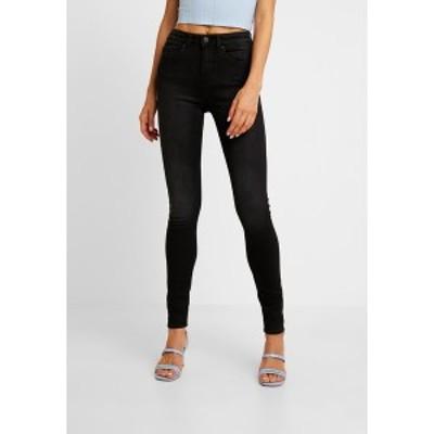 オンリー レディース デニムパンツ ボトムス ONLFHUSH LIFE - Jeans Skinny Fit - black denim black denim
