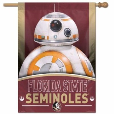 WinCraft ウィンクラフト スポーツ用品  WinCraft Florida State Seminoles 28 x 40 Star Wars Single-Sided House Banner