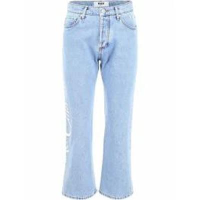 MSGM レディースデニム MSGM Riviera Resort Club Jeans LIGHT BLUE