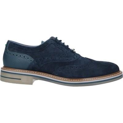 ブリマート BRIMARTS メンズ 革靴・ビジネスシューズ シューズ・靴 Laced Shoes Dark blue