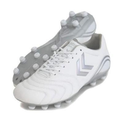 [ヒュンメル] サッカースパイク ヴォラートII SL SUPERWIDE ホワイト×シルバー (1095) 27.0 cm