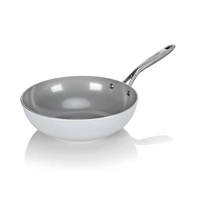 (30cm) - TECHEF - CeraTerra 30cm Ceramic Nonstick Wok/Stir-Fry Pan, (PTFE a