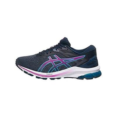 特別価格ASICS Women's GT-1000 10 Running Shoes, 8M, French Blue/Digital Grape好評販売中