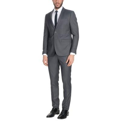 DOMENICO TAGLIENTE スーツ 鉛色 52 ポリエステル 65% / レーヨン 35% スーツ