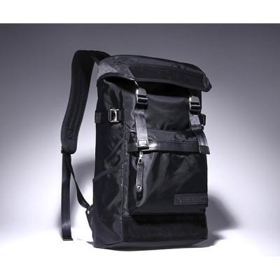 【ミニコンテナボックス付き】マスターピース バックパック/ブラック メンズ デンシティ 01359 master-piece
