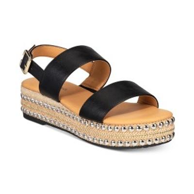 セブンダイアルズ レディース サンダル シューズ Berenice Espadrille Flatform Women's Sandal Black