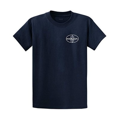Koloa Surf Classic Oval Surfboards Heavy Cotton T-Shirt-Navy/w-2XL