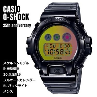 CASIO カシオ G-SHOCK Gショック DW6900生誕25周年 Skeleton シースルースケルトン DW-6900SP-1 ブラック 腕時計 メンズ