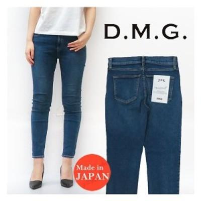 ドミンゴ D.M.G. DOMINGO 5ポケット スキニー パンツ Freemod Indigo レディース ブラスト 14-080D MADE IN JAPAN