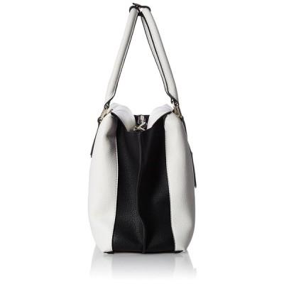 リゼクシー ハンドバッグ ロゴプレートバッグ Mサイズ ホワイト