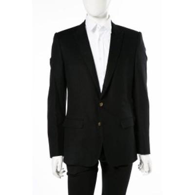 ドルチェ&ガッバーナ ドルガバ DOLCE&GABBANA テーラードジャケット ブラック メンズ (G2GW1T FU3LU) 送料無料