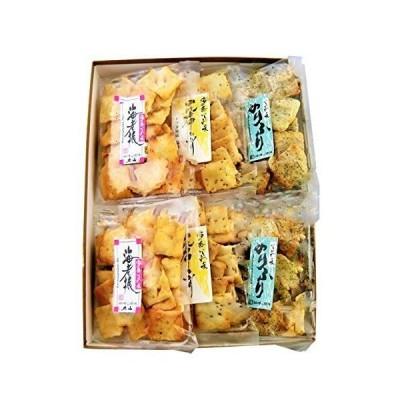 加賀かきもち丸山 加賀あられ 3種 塩味 60g×6 あられ 和菓子 おかき 無添加 国産 石川