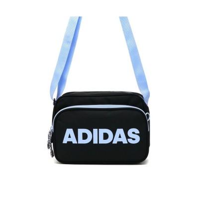 【ギャレリア】 アディダス adidas 斜めがけ 小さめ カジュアル スポーツ 4L 軽量 ショルダーバッグ 57596 ユニセックス ブラック F GALLERIA
