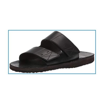 新品Frye Men's Cape Double Band Sandal, Black, 9 M US【並行輸入品】