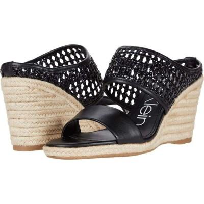 カルバンクライン Calvin Klein レディース サンダル・ミュール シューズ・靴 Brooke Black