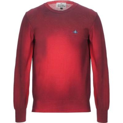 ヴィヴィアン ウエストウッド VIVIENNE WESTWOOD メンズ ニット・セーター トップス Sweater Maroon