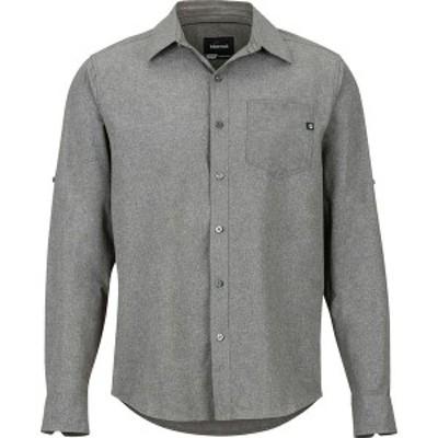 マーモット メンズ シャツ トップス Aerobora Long-Sleeve Shirt Cinder