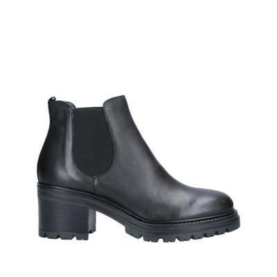LORETTA PETTINARI ショートブーツ ブラック 36 牛革(カーフ) ショートブーツ
