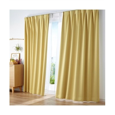 【1cm単位オーダー】遮光カーテン(1枚) ドレープカーテン(遮光あり・なし) Curtains, blackout curtains, thermal curtains, Drape(ニッセン、nissen)