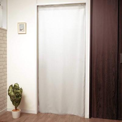 【cloth shop 布や】間仕切り カーテン パーテーション 幅 約90x丈200cm 1枚入[非遮光ワッフル:アイボリー]
