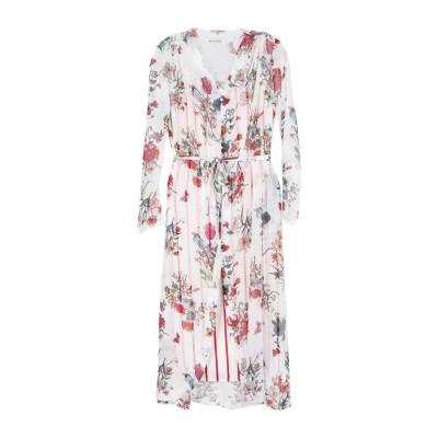 シルビアンヒーチ SILVIAN HEACH ロングワンピース&ドレス ホワイト S ポリエステル 100% ロングワンピース&ドレス