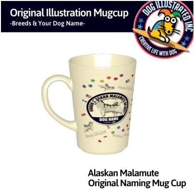 アラスカンマラミュートマグカップ
