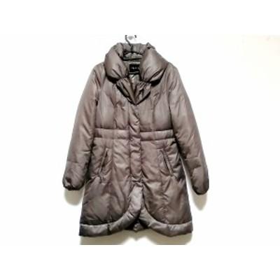 インディビ INDIVI ダウンコート サイズ38 M レディース 美品 グレー 冬物【中古】20200523