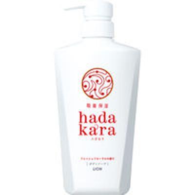 ライオンハダカラ(hadakara)ボディソープ フレッシュフローラルの香り ポンプ 500ml ライオン