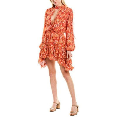 へマント&ナンディータ ワンピース トップス レディース Hemant and Nandita Dawn A-Line Dress red