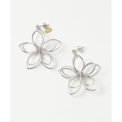 CERCA / Youuumu*/BIG flower pierce SV WOMEN アクセサリー > ピアス(両耳用)