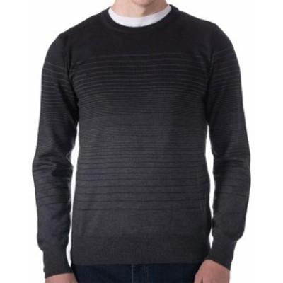 Robert Talbott ロバートタルボット ファッション トップス Robert Talbott Broderick Stripe Crew Sweater Xl