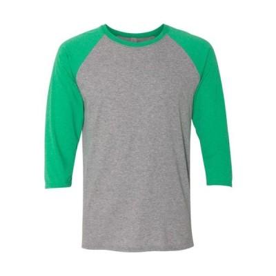 ユニセックス 衣類 トップス Jerzees T-Shirts Dri-Power Active Triblend Baseball Raglan T-Shirt 601RR Tシャツ