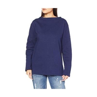 セントジェームス Tシャツ 2503無地 マリン LADIES S-M 並行輸入品