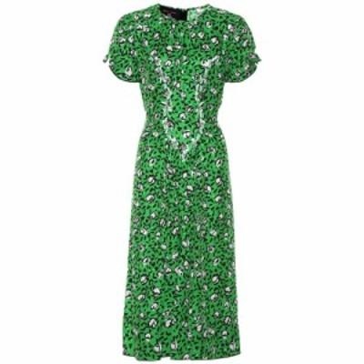 マーク ジェイコブス Marc Jacobs レディース ワンピース ワンピース・ドレス Sofia Loves The 40's silk dress Green Multi
