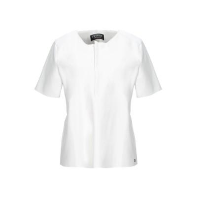ツインセット シモーナ バルビエリ TWINSET ブラウス ホワイト XS レーヨン 100% / ポリエステル / ポリウレタン / ポリウレタ