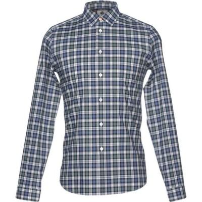 ポールスミス PS PAUL SMITH メンズ シャツ トップス checked shirt Dark blue
